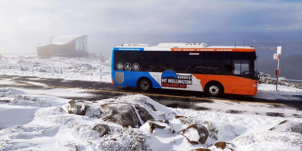 kunanyi-Mt Wellington Explorer Bus - Snow Bus